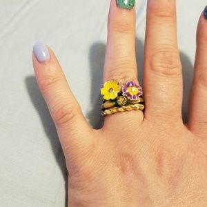 Urban Outfitters stackable rings Size 7